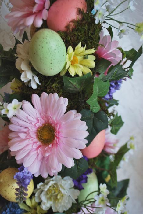 Egg Topiary- Flowers (469x700, 504Kb)