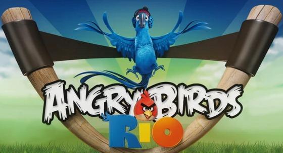 Играем в Злые птицы: Рио