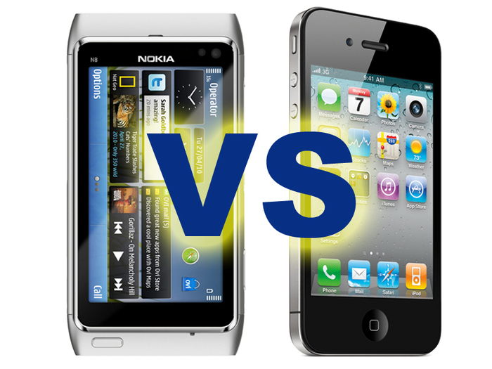 Что взять Nokia N8 или iPhone 4 от Apple?