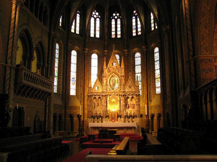 Церковь Святого Матьяша - Будапешт 13877