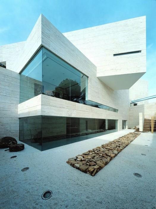 Модные виллы в Испании - дом от A-Cero Arquitectos 1 (525x700, 94Kb)
