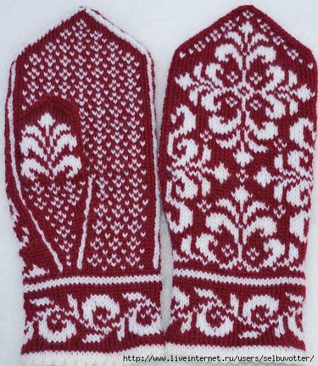 Схемы для вязания спицами.
