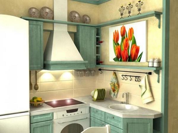 Проект интерьера малогабаритной кухни 15 (600x450, 58Kb)