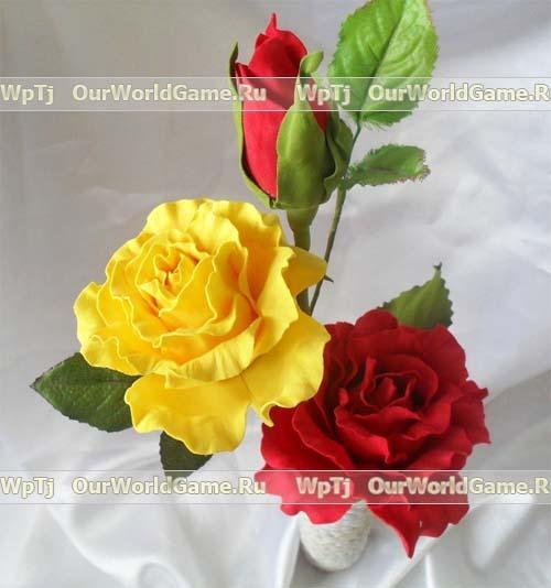 84537230 rozafoam10 Цветы из бумаги