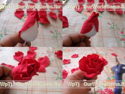 84537356 rozafoam21 Цветы из бумаги