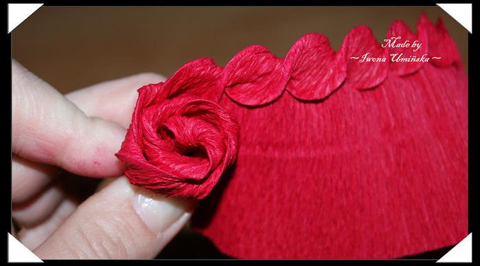 """手工纸艺教程:瓦楞纸的""""神奇玫瑰""""(大师班) - maomao - 我随心动"""