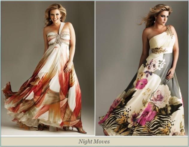 Платья вечерние для полных - Все о моде.