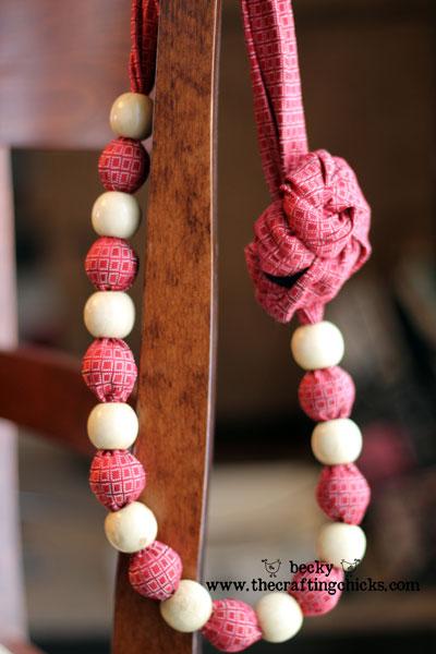 领带的第二次生命 (5) 项链 - maomao - 我随心动