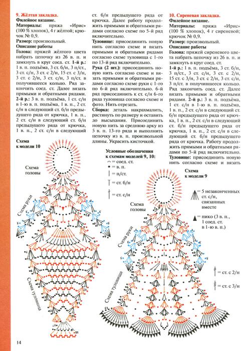 Поделки связанные крючком схемы и
