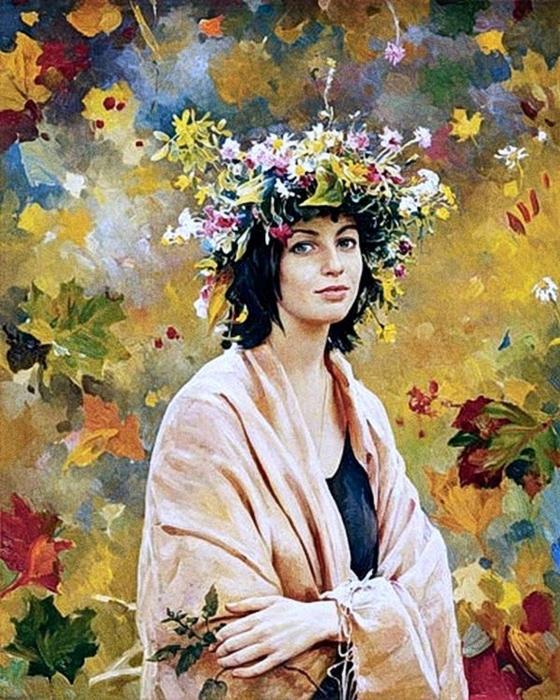 Василий Нестеренко. Портрет (560x700, 350Kb)