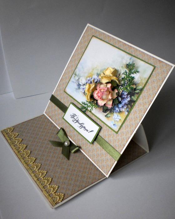 Объемные открытка на заказ