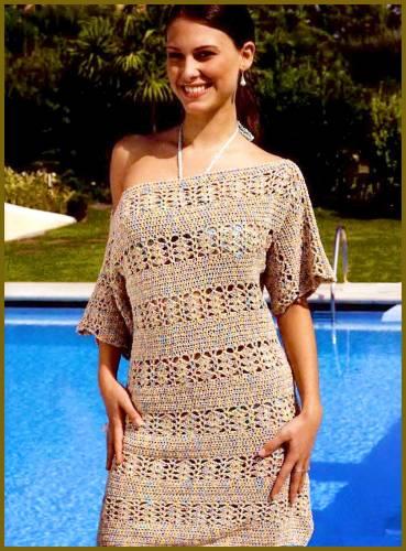 Пляжное платье крючком - Самое интересное в блогах