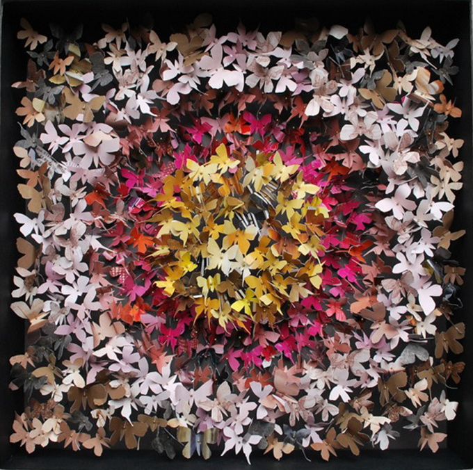 бумажные поделки бабочки 5 (680x676, 254Kb)