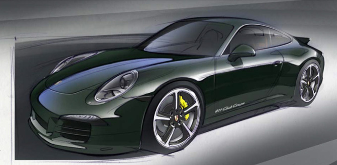 911 Club Coupe фото Porsche 4 (680x333, 76Kb)