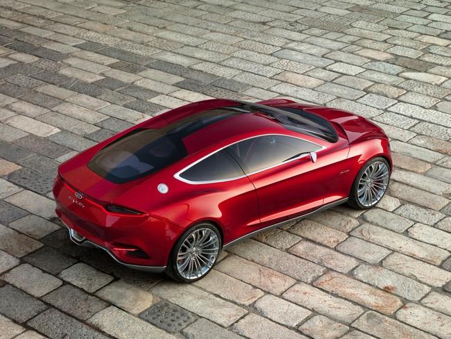 Ford Evos - красивый концепт-кар 9 (650x488, 131Kb)