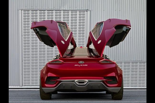 Ford Evos - красивый концепт-кар 10 (650x433, 87Kb)