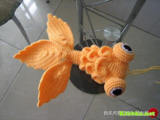 Золотая рыбка крючком