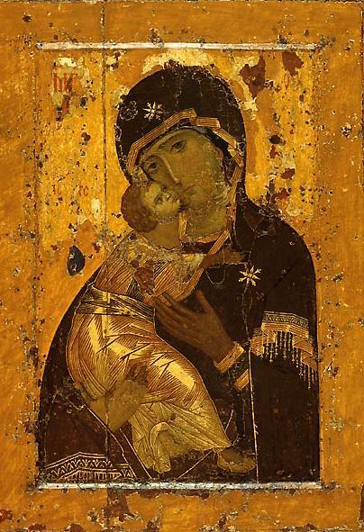 старинная икона божьей матери: