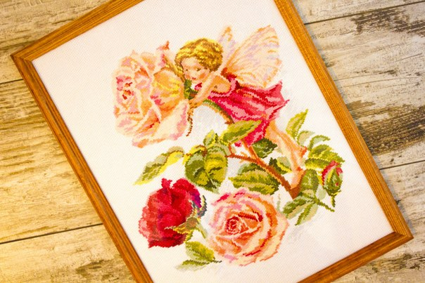 Фея розового сада