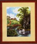 Превью KzR Swans Landscape (391x463, 42Kb)