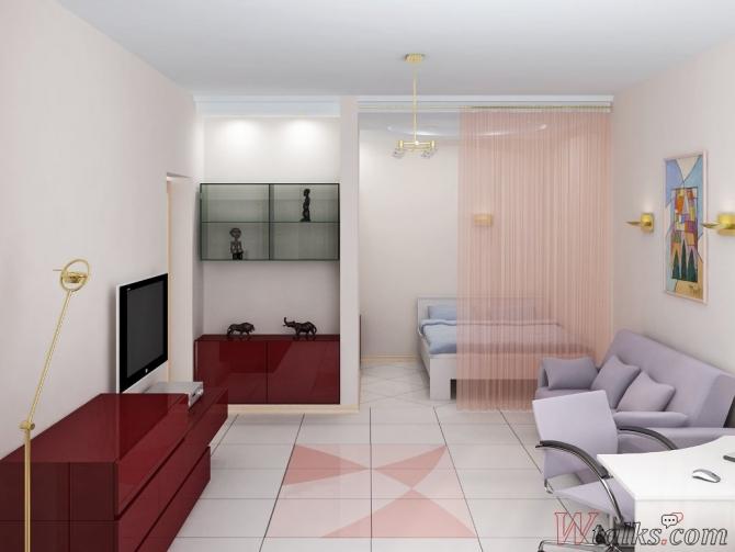 фото однокомнатная квартира интерьер