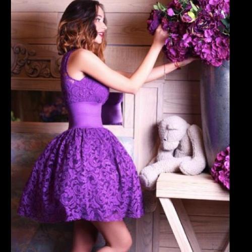 Платья фиолетовый цвет