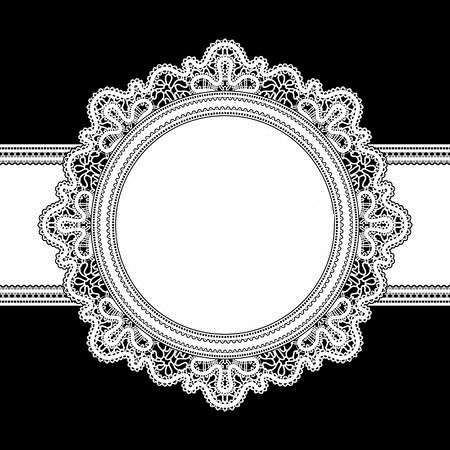 22474126-white-lace-round-frame-on-black (450x450, 118Kb)