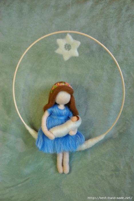 Кукла из войлока мастер класс