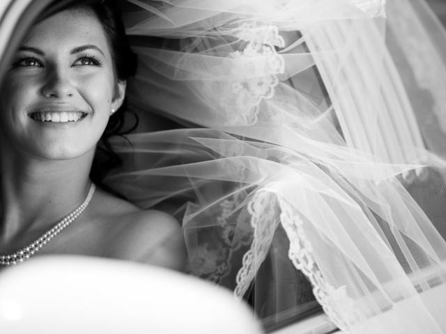 черно белое свадебное видео