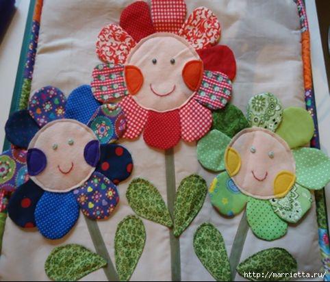 Наволочка с цветочками для детской подушки (14) (482x412, 130Kb)
