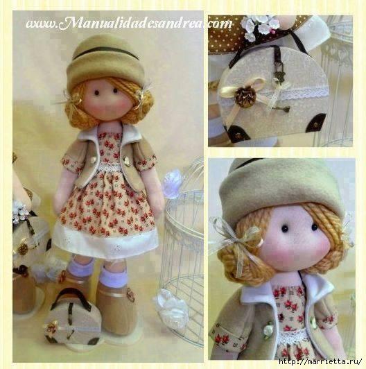 Шьем куколку Diana в одежде и с сумочкой (4) (528x532, 157Kb)