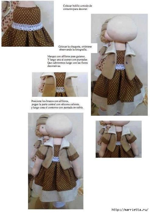 Шьем куколку Diana в одежде и с сумочкой (18) (492x700, 180Kb)