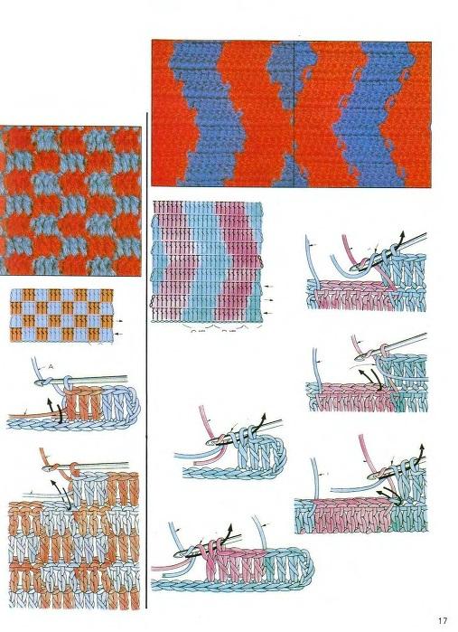 Вязание крючком и спицами в картинках 773