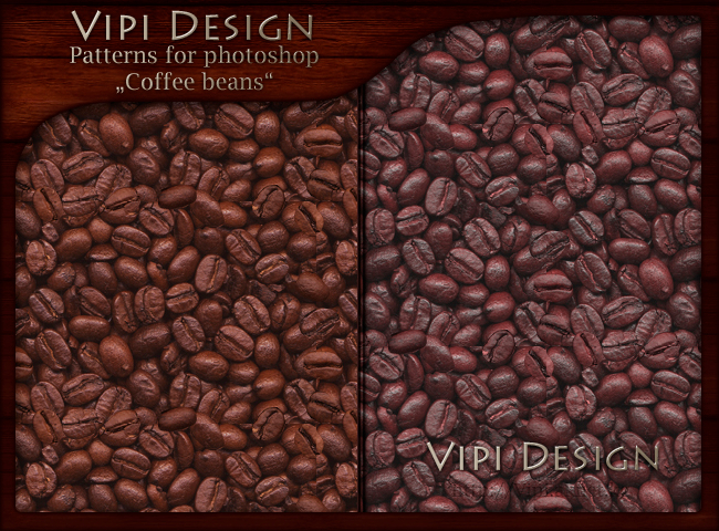 Patterns Coffee beans by vipi design (650x480, 535Kb)