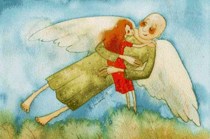 В объятиях ангела-2 (700x464, 54Kb)