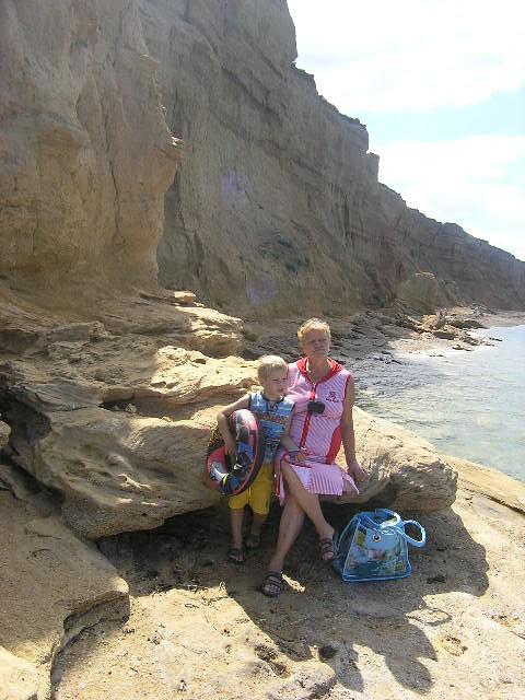Дикий пляж видео семьи