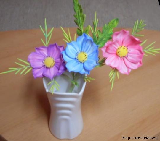 Нежные цветы из сахарной мастики для торта (3) (540x477, 106Kb)