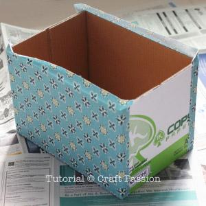 Ящики для хранения из картонных коробок (8) (300x300, 81Kb)