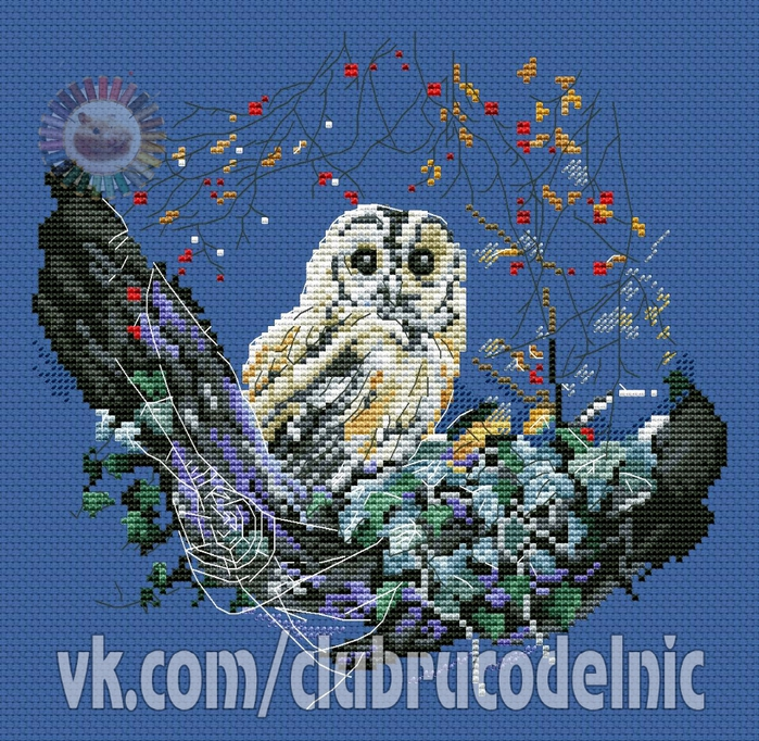 Owl (700x682, 486Kb)
