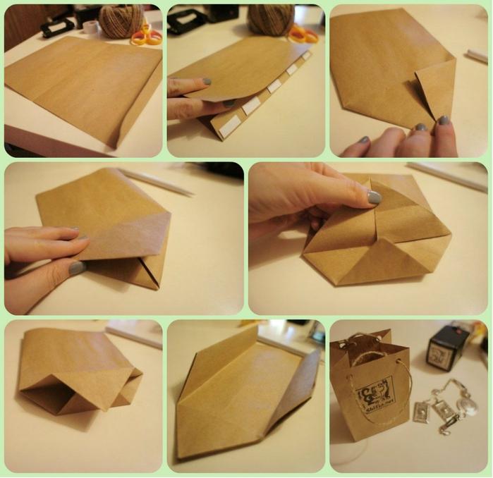 Бумажный пакет для упаковки своими руками