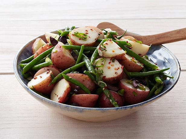 Картофельно фасолевый салат фото