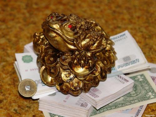 считается денежная жаба.