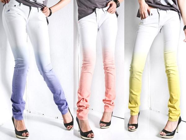 Как можно покрасить брюки в домашних условиях 75