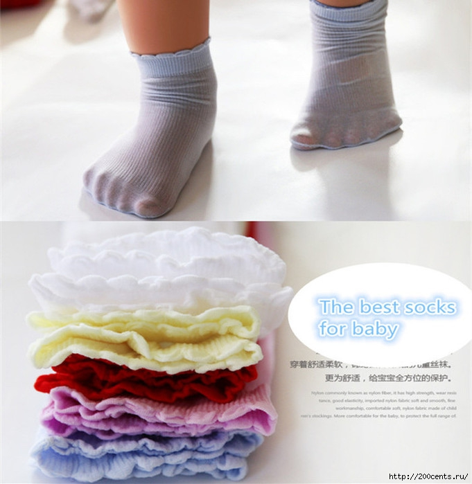 Summer Baby Socks Boys Girls Colorful Soft Thin 0-5 years Children Kids Socks/1435256706_SummerBabySocksBoysGirlsColorfulSoftThin05yearsChildrenKidsSocks (681x700, 197Kb)