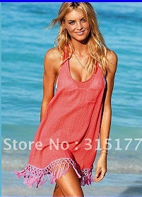 DHL-Free-shipping-Pink-Tassel-Cover-up-Beach-Dresses-Wholesale-10pcs-lot-Swimsuit-2012-Beach-SarongР° (201x278, 81Kb)