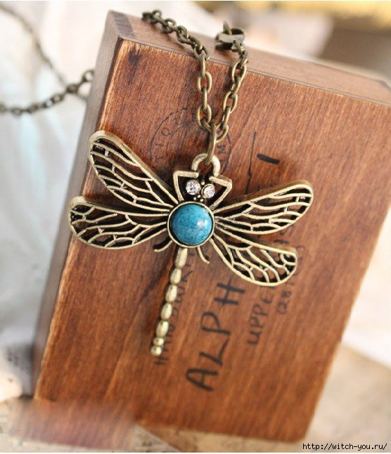 2013 Fashion Bronze Turquoise Dragonfly Charm Pendent Necklace vintage necklace N3./1435316202_2013FashionBronzeTurquoiseDragonflyCharmPendentNecklacevintagenecklaceN3 (556x646, 186Kb)