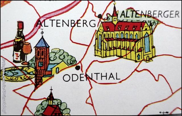 Карта моих маршрутов - Дюссельдорф и вокруг.