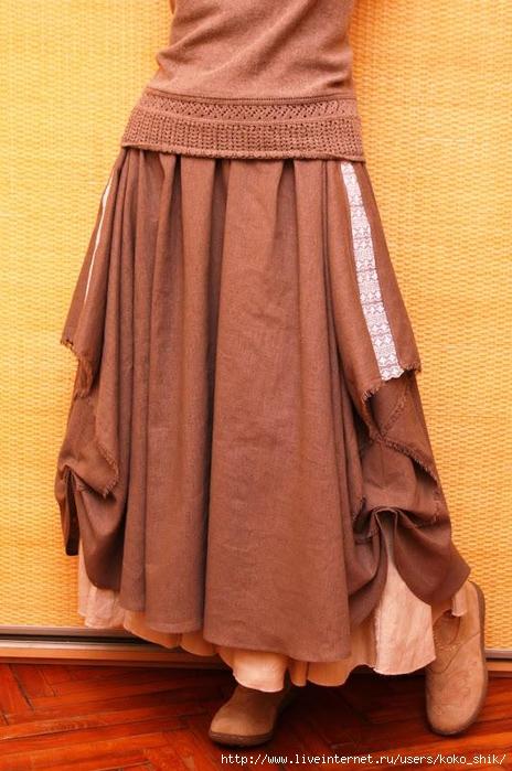 Бохо-юбка 1 (464x700, 265Kb)