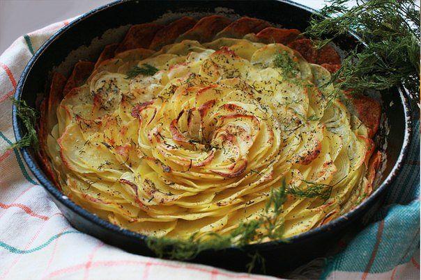 Фото рецепты гарниров духовке