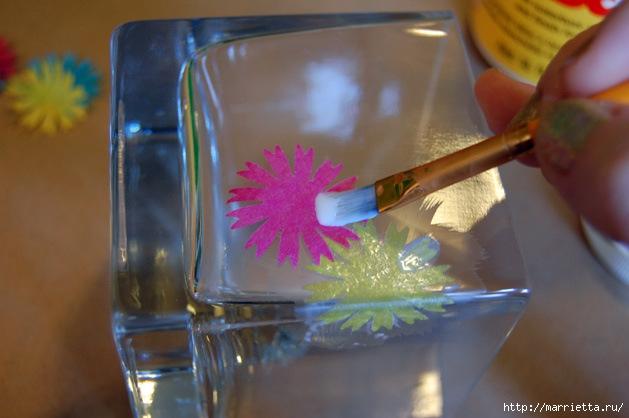 Матовый подсвечник из стакана (4) (629x418, 150Kb)